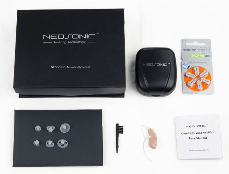 Neosonic Open Fit Hearing Amplifier Review